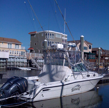 South jersey fishing charters bambola for Ocean city nj fishing charters